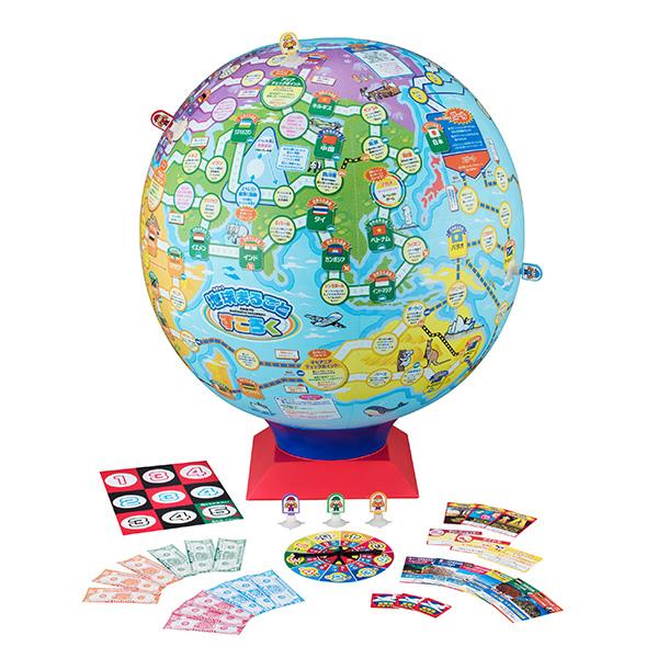 地球まるごとすごろく|商品情報|メガトイ|メガハウスのおもちゃ情報サイト