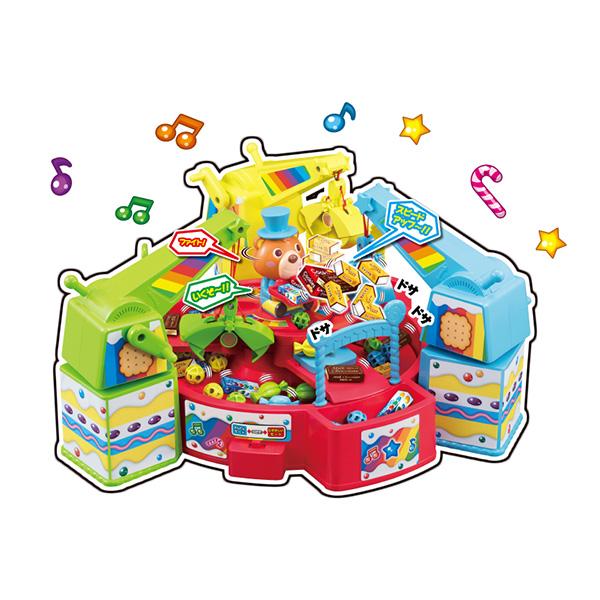 たいけつ!キャンディキャッチャークレーン|商品情報|メガトイ|メガハウスのおもちゃ情報サイト